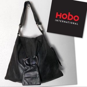 HOBO INTERNATIONAL SOFT LEATHER BAG PURSE